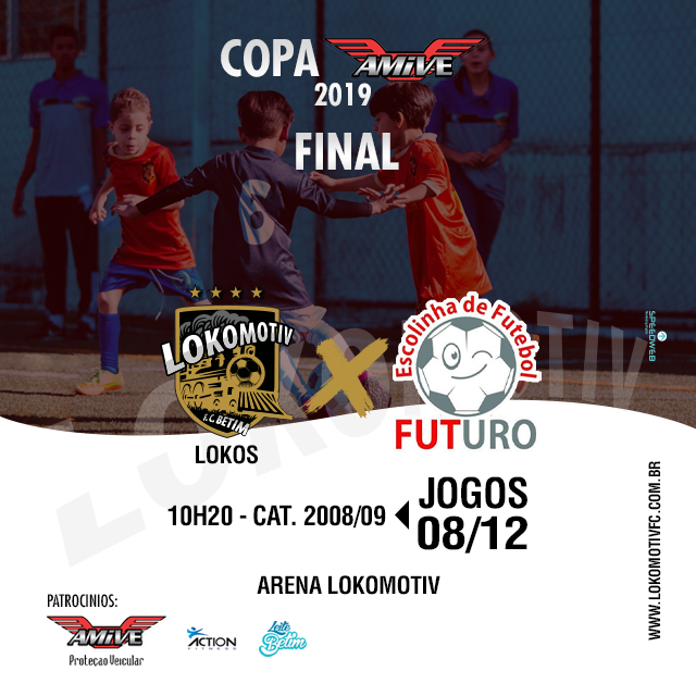 Domingo (08/11) teremos a FINAL da COPA AMIV 2019